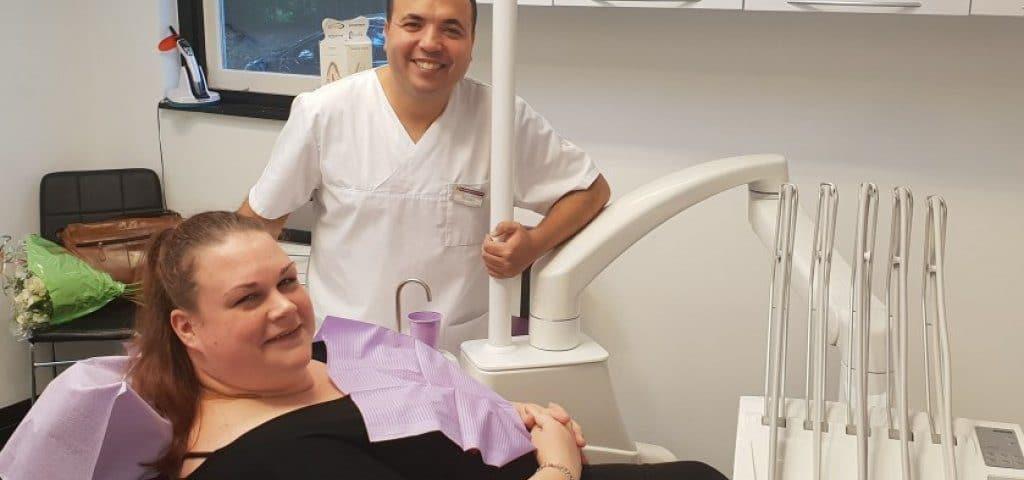 Bibiana gratis naar de tandarts